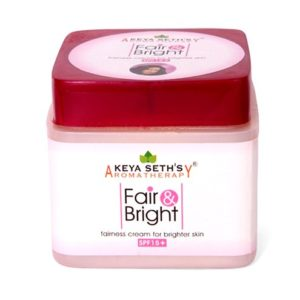 keya seth fair bright fairness cream