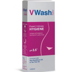 VWash Plus -Your expert Intimate Hygiene wash 100ml.
