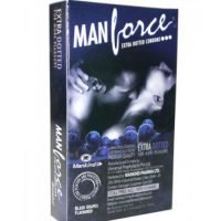 Manforce_Black_Grapes_Flavoured_Extra_Dotted_Condoms_smackdeal.com