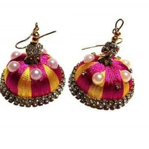 Stylish Traditional Party Wear Jhumka Earring