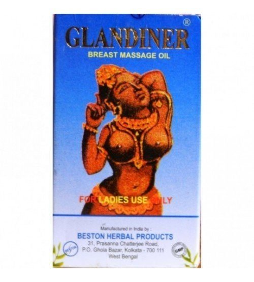 glandiner breast massage oil 50ml SmackDeal