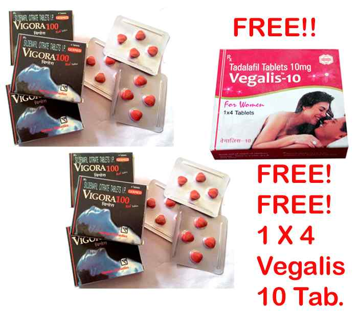 Vigora 100 Tablet 6 Packs