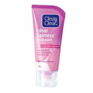 Johnson Clean & Clear Skin Fairness Face Wash - 80g