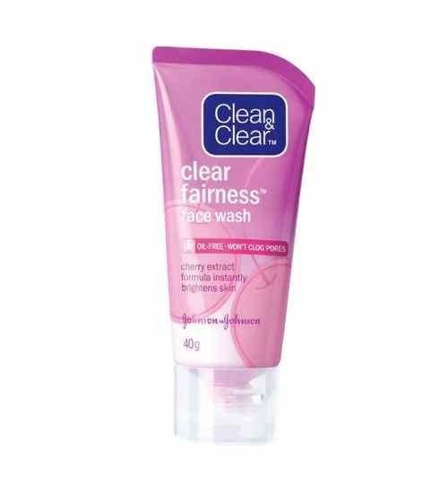 Johnson Clean & Clear Skin Fairness Face Wash - 80g