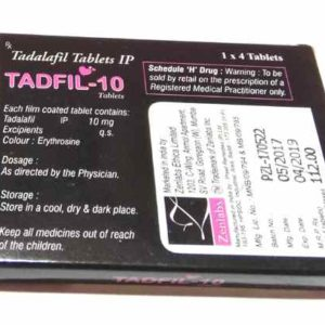 Tadfil 10 Mg Tadalafil Tablet For Female Sex Enhancement