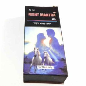 Night Mantra Oil For Men – 20ml Private Pack