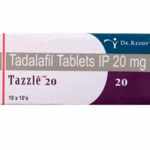 Tazzle 20 Mg Tablet For Female Erectile Dysfunction 10 Pcs