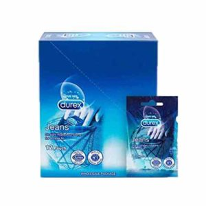 Durex Jeans Condom 12 Pouch (24pcs) Pocket Friendly Condom