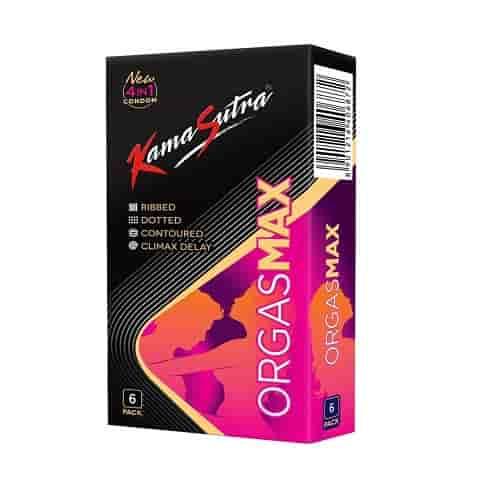 kamasutra condoms orgasmax 6 pcs