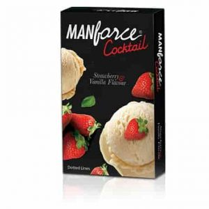 Manforce Condoms Cocktail Strawberry Flavour