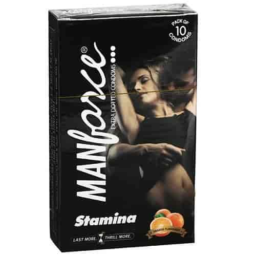 manforce stamina condoms orange flavour