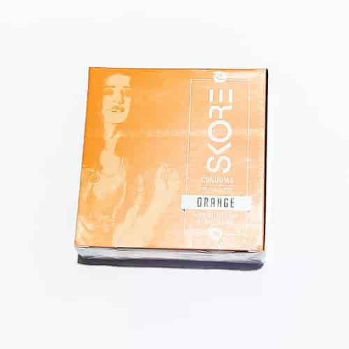 skore condom orange 3 pcs pack